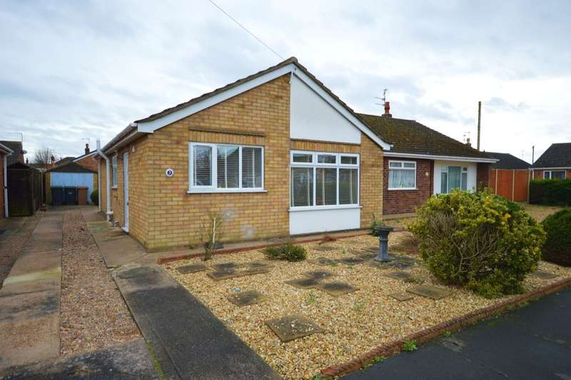 2 Bedrooms Detached Bungalow for sale in St. Peters Avenue, North Hykeham, Lincoln, LN6