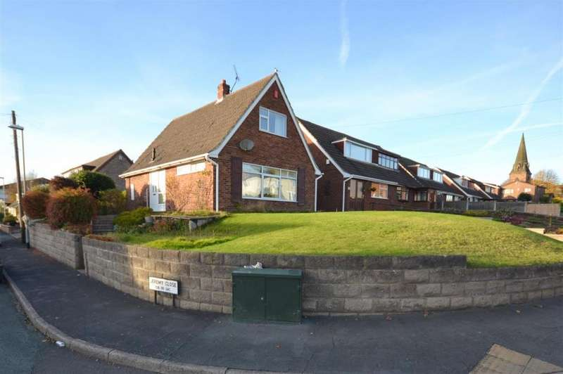 2 Bedrooms Detached Bungalow for sale in Jeremy Close, Penkhull, Stoke-On-Trent