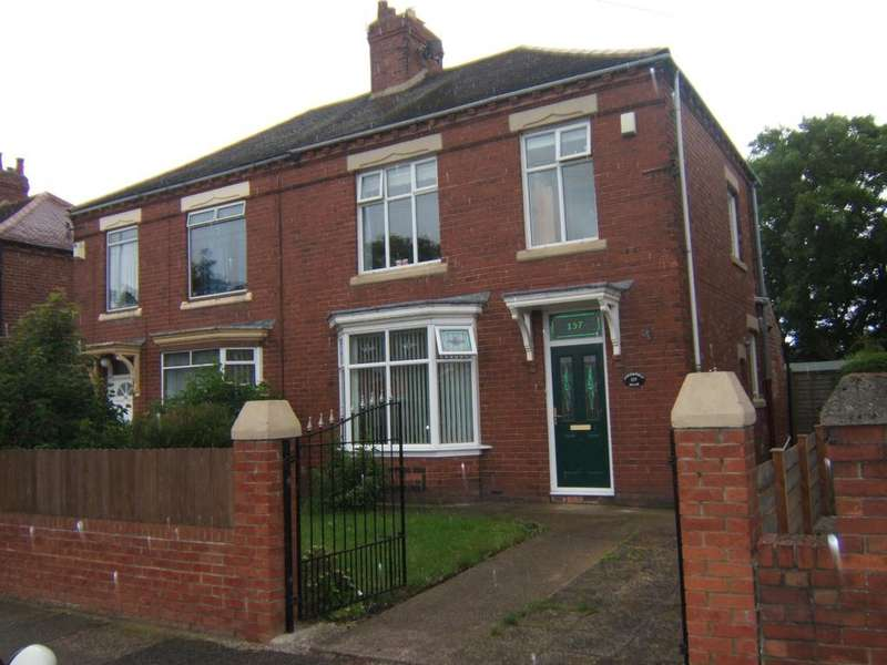 3 Bedrooms Semi Detached House for sale in Harton Lane, South Shields