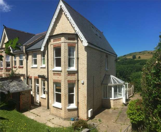 4 Bedrooms Semi Detached House for sale in Ilfracombe, Devon