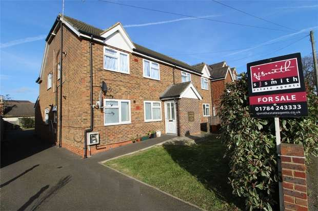 1 Bedroom Maisonette Flat for sale in Staines Road West, Sunbury-on-Thames, Surrey