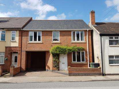 3 Bedrooms Detached House for sale in High Street, Syston, Leicester, Leicestershire