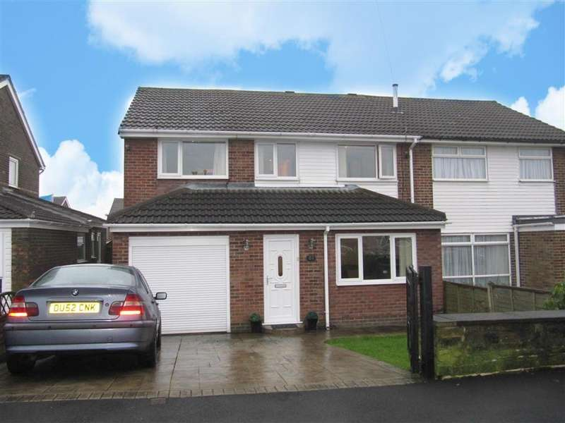 4 Bedrooms Semi Detached House for sale in Moorlands Road, Mount, Huddersfield, HD3