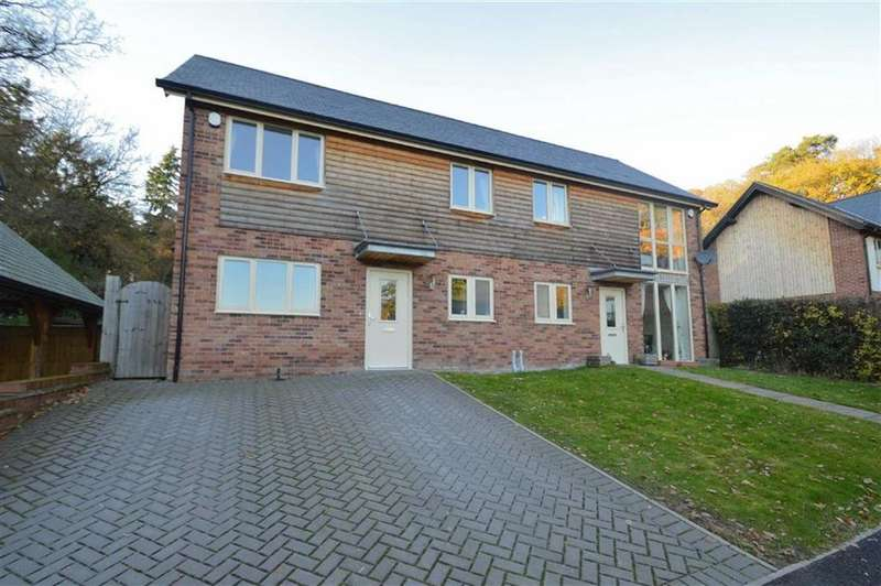 3 Bedrooms Semi Detached House for sale in Lower Road, Harmer Hill, Shrewsbury