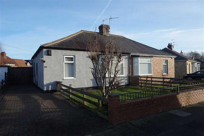 2 Bedrooms Semi Detached Bungalow for sale in Ashwood Crescent, Walkerville, Newcastle Upon Tyne, NE6