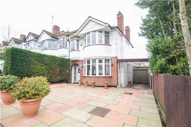 3 Bedrooms End Of Terrace House for sale in Fairfields Crescent, KINGSBURY, NW9 0PS
