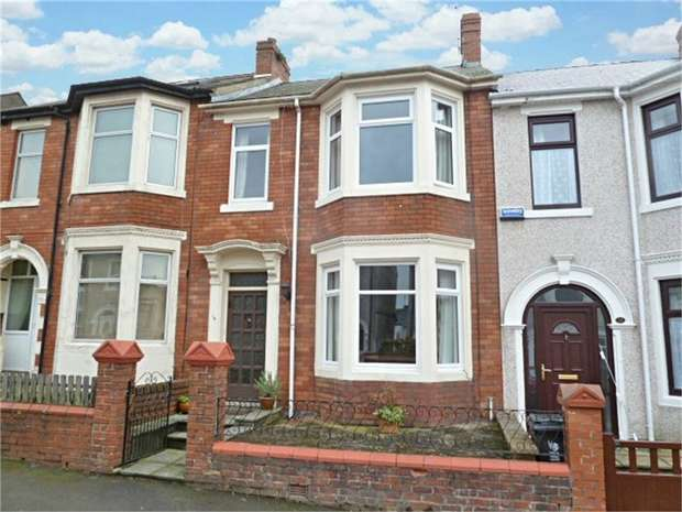 3 Bedrooms Terraced House for sale in Hubert Road, Newport