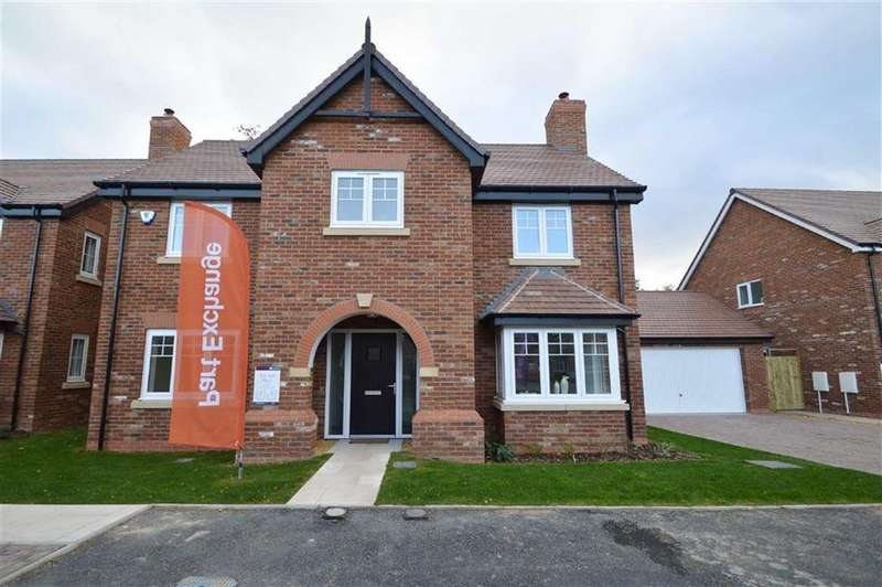 4 Bedrooms Detached House for sale in Belvidere Park, Belvidere, Shrewsbury