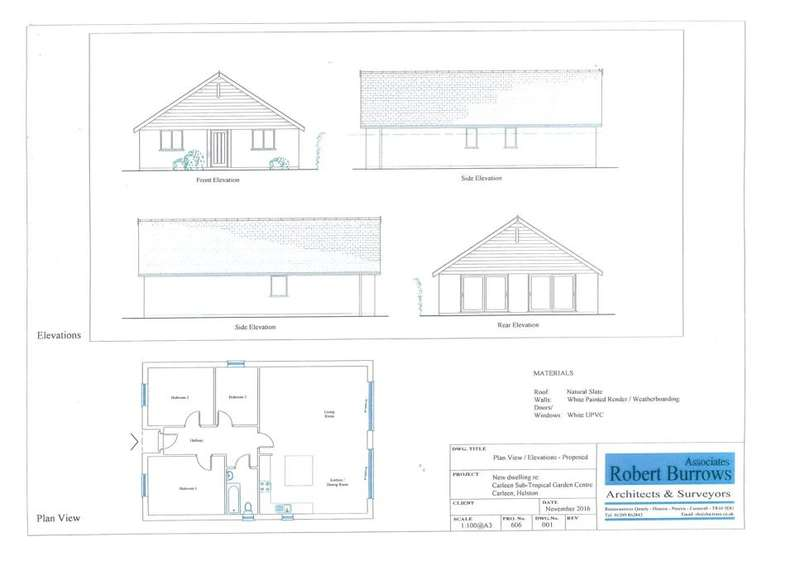 Land Commercial for sale in Carleen, Near Helston