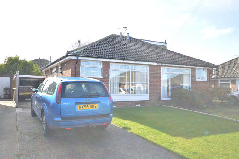 2 Bedrooms Semi Detached Bungalow for sale in West Side, Marton