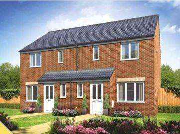 3 Bedrooms Semi Detached House for sale in Jasmine Gardens Development, Wellington