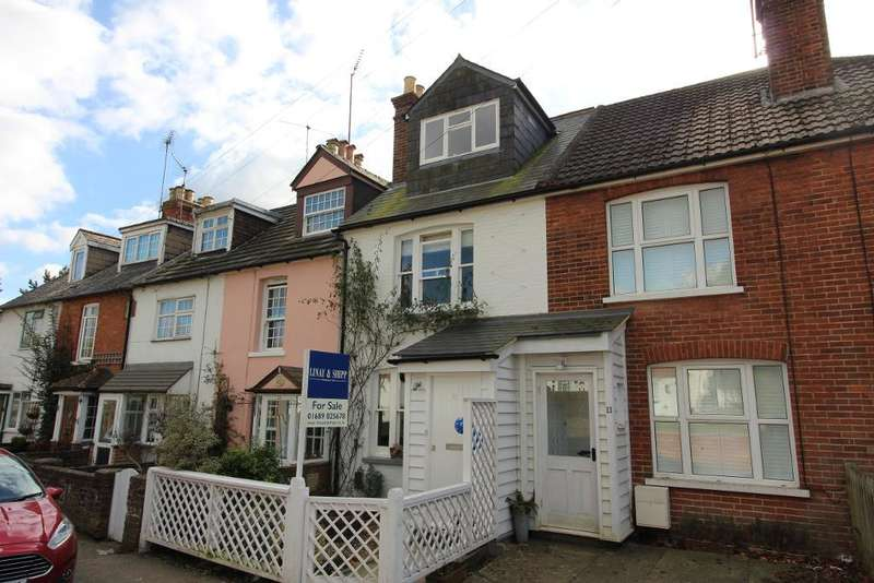 3 Bedrooms Terraced House for sale in Old Hill, Green Street Green, Orpington, Kent, BR6 6BW