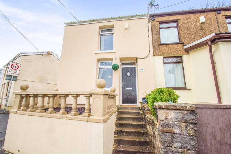 2 Bedrooms End Of Terrace House for sale in Balaclava Road, Dowlais, Merthyr Tydfil