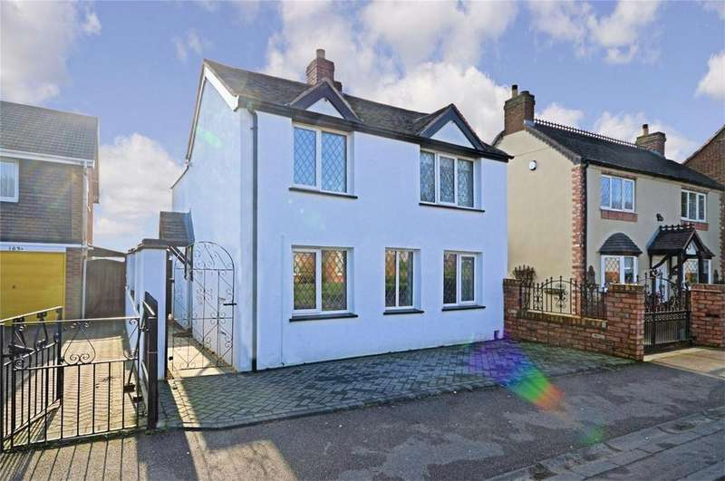 3 Bedrooms Detached House for sale in Chase Road, Burntwood, Staffordshire