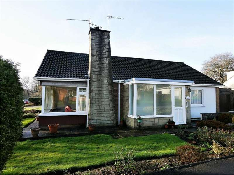 2 Bedrooms Detached Bungalow for sale in Larkwood Avenue, Penarth