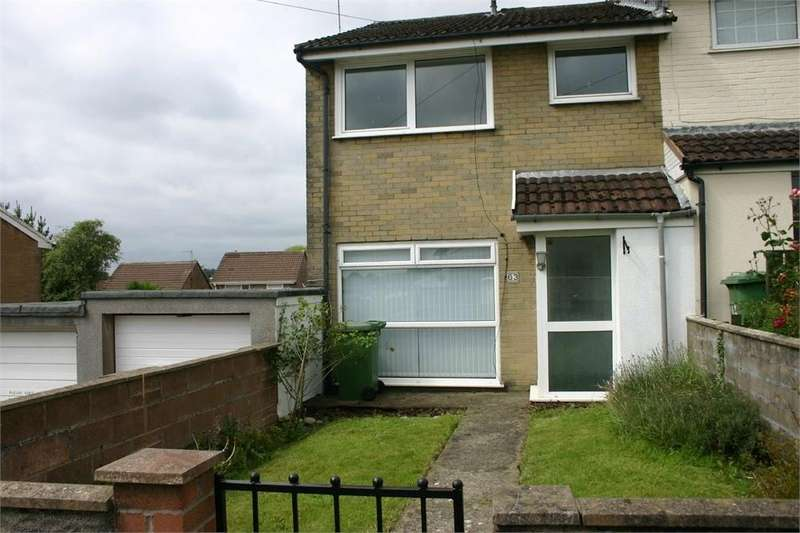 3 Bedrooms Semi Detached House for sale in Conway Crescent, Tonteg, Pontypridd, Mid Glamorgan