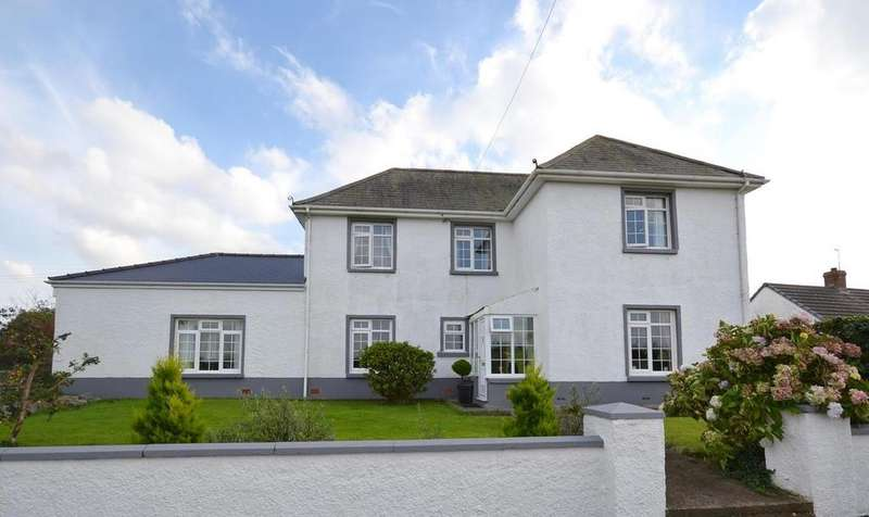 4 Bedrooms Detached House for sale in Simpson Cross, Haverfordwest