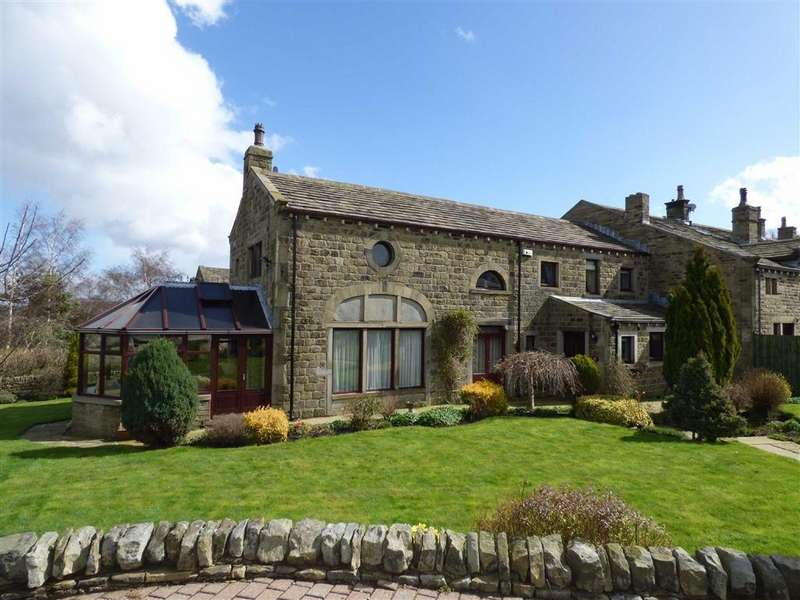 4 Bedrooms Barn Conversion Character Property for sale in Oldfield Farm, Honley, HOLMFIRTH, West Yorkshire, HD9