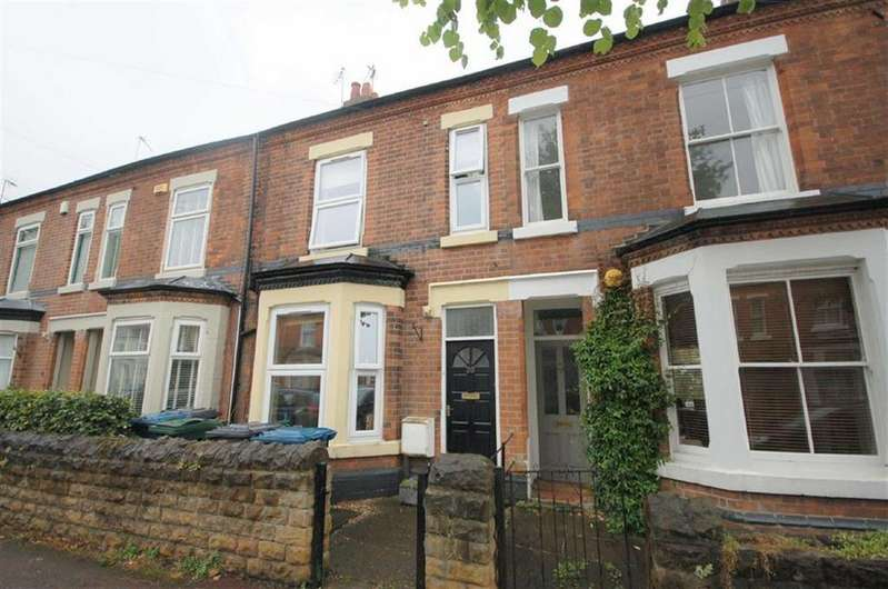 3 Bedrooms Terraced House for sale in Portland Road, West Bridgford