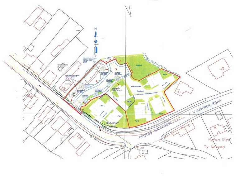 Plot Commercial for sale in Betws