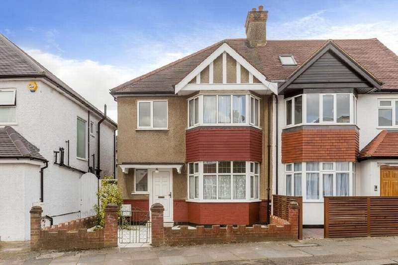 3 Bedrooms Semi Detached House for sale in Gainsborough Gardens, Golders Green, NW11