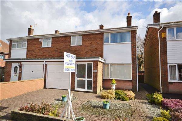 3 Bedrooms Semi Detached House for sale in Park Road, Coppull, Chorley