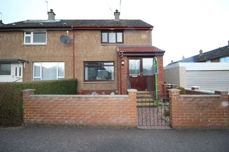 2 Bedrooms Semi Detached House for sale in Scott Road, Glenrothes, KY6