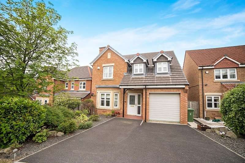 4 Bedrooms Detached House for sale in Younghall Close, Greenside, Ryton, NE40