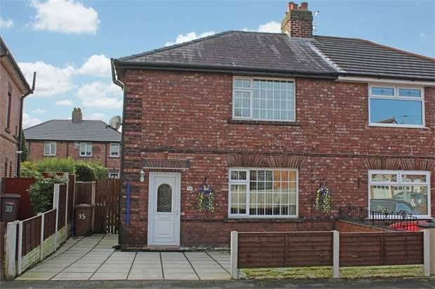 3 Bedrooms Semi Detached House for sale in Fairclough Road, St Helens, Merseyside
