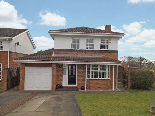 4 Bedrooms Detached House for sale in Byron Court, Crook, Durham