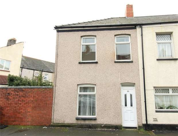 2 Bedrooms End Of Terrace House for sale in Manchester Street, NEWPORT