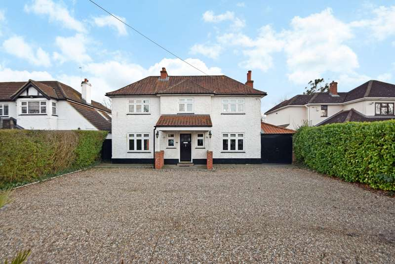 4 Bedrooms Detached House for sale in Harcourt Road, Dorney Reach, SL6