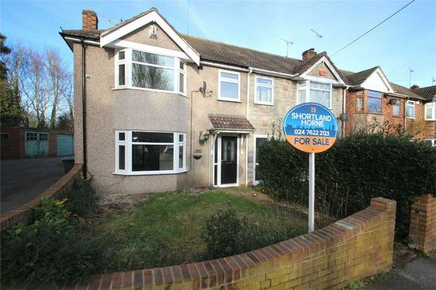 4 Bedrooms End Of Terrace House for sale in Binley Road, Binley, Coventry