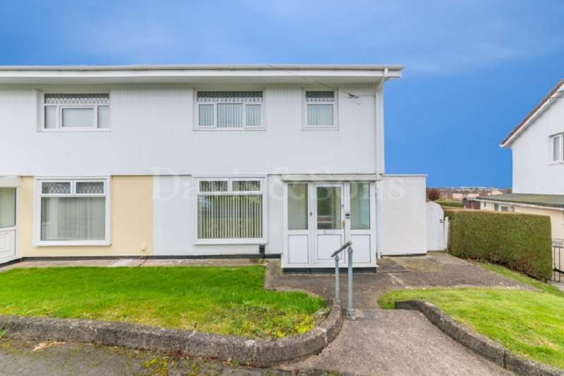 3 Bedrooms Semi Detached House for sale in Henry Wood Close, Alway, Newport. NP19 9SY