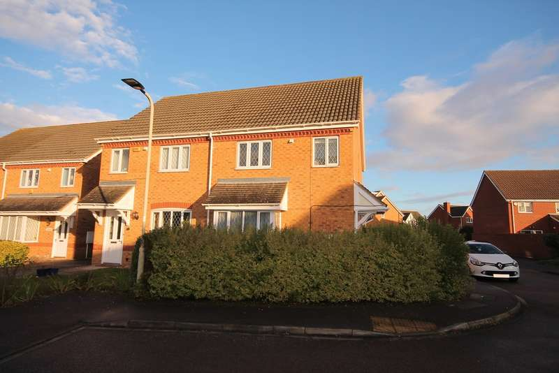 3 Bedrooms Semi Detached House for sale in Cartmel Priory, Riverfield, Bedford, MK41