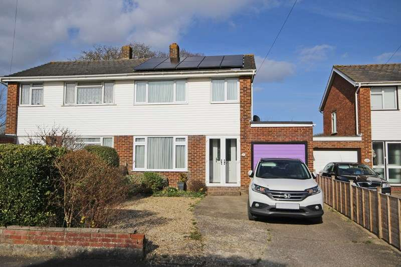 3 Bedrooms Semi Detached House for sale in Rosewood Gardens, New Milton