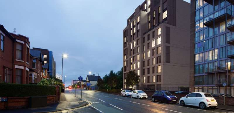 1 Bedroom Studio Flat for sale in Warwick Road, Manchester, M16
