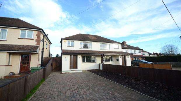 3 Bedrooms Semi Detached House for sale in Frimley Green Road, Frimley Green, Camberley