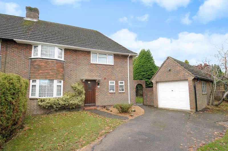 4 Bedrooms Semi Detached House for sale in Washington Road, Haywards Heath, RH16