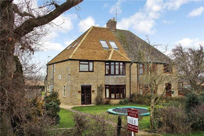 5 Bedrooms Semi Detached House for sale in Evenlode Road, Moreton-In-Marsh, Gloucestershire, GL56