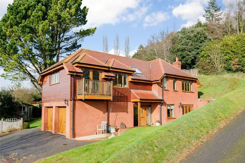 4 Bedrooms Detached House for sale in Little John's Cross Hill, Exeter, Devon