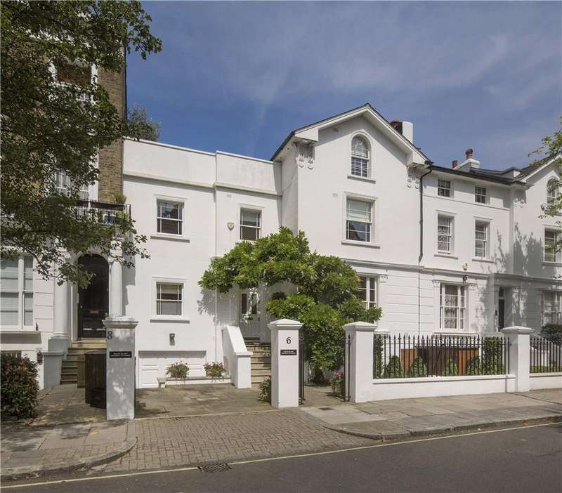 4 Bedrooms House for sale in Abbey Gardens, St John's Wood, London, NW8