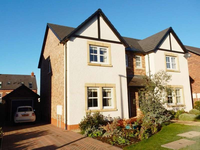 3 Bedrooms Semi Detached House for sale in Maxwell Drive, Crindledyke, Carlisle