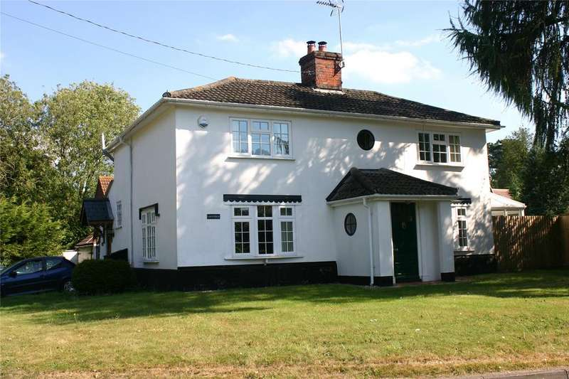 4 Bedrooms Detached House for sale in Heckfield Green, Hoxne, Eye, Suffolk, IP21
