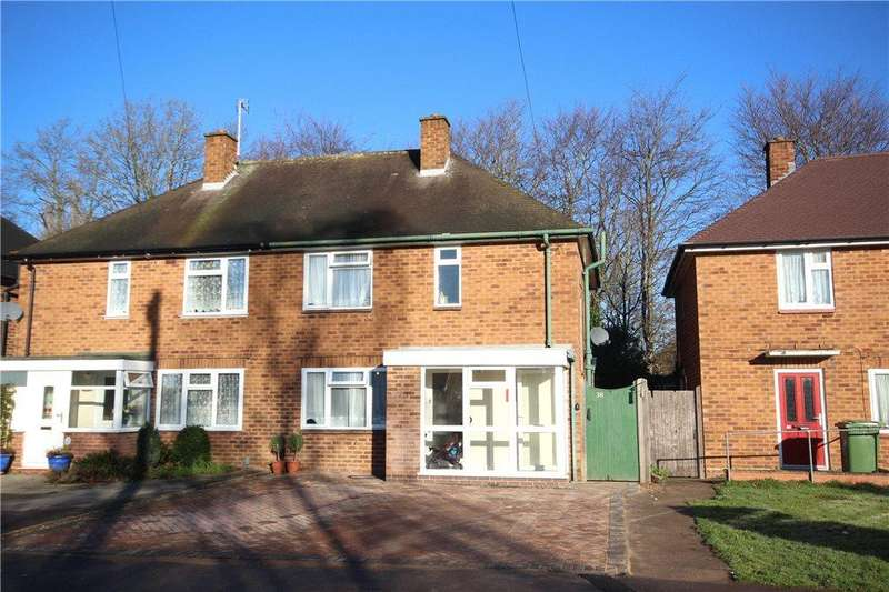 3 Bedrooms Semi Detached House for sale in Broomfields Close, Solihull, West Midlands, B91