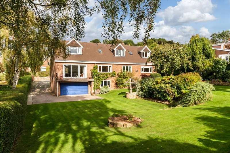 4 Bedrooms Detached House for sale in Malkins, Utkinton, CW6 0LR
