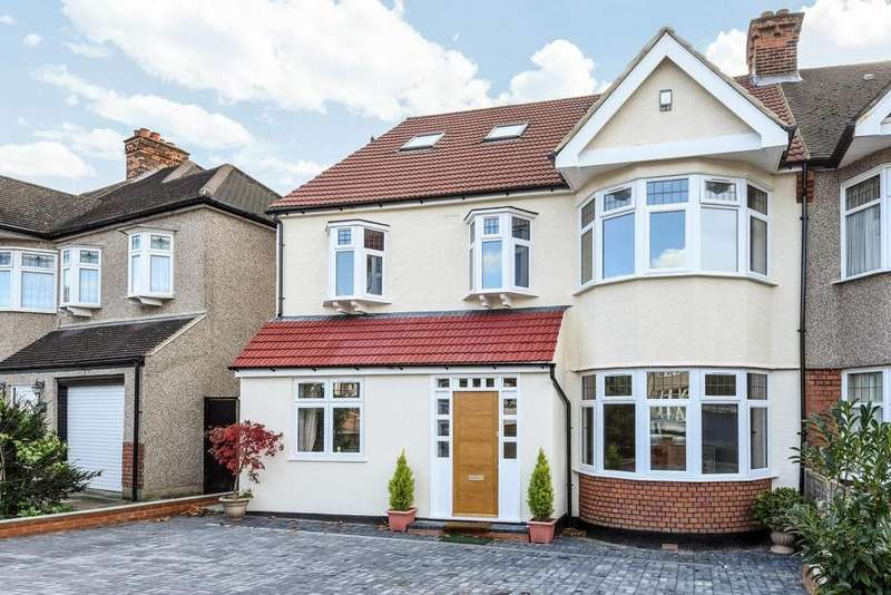 6 Bedrooms Semi Detached House for sale in Boleyn Gardens, West Wickham, BR4