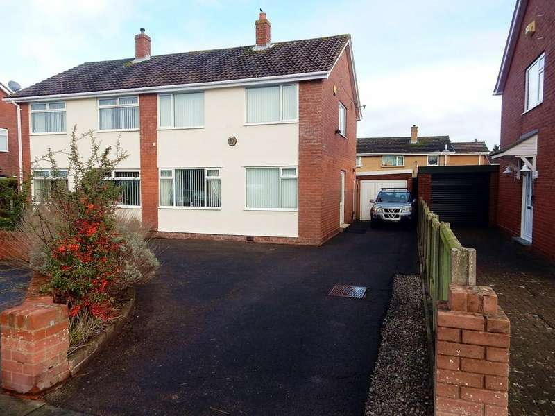 2 Bedrooms Semi Detached House for sale in Holmrook Road, Carlisle