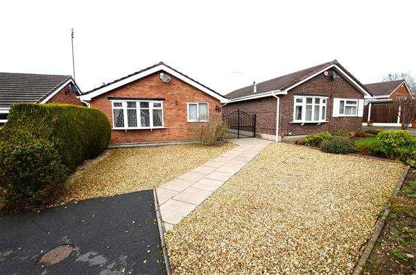 2 Bedrooms Detached Bungalow for sale in Tarporley Grove, Trent Vale, Stoke-On-Trent