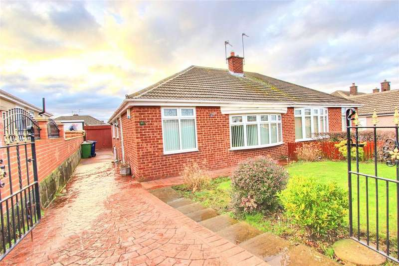 2 Bedrooms Semi Detached Bungalow for sale in Durham Road, Eston